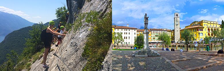 Aktivitetstur i Riva del Garda