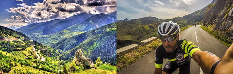 Sykkeltur i Pyreneene