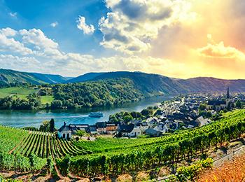 Tyskland Moseldalen Expa Travel