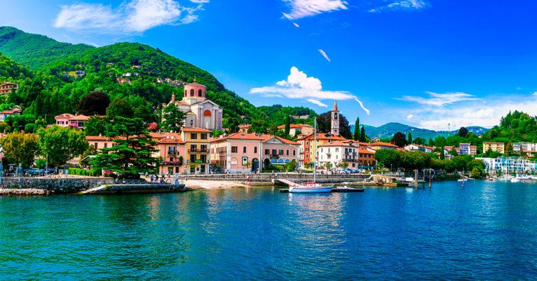 Vespatur ved Lago Maggiore