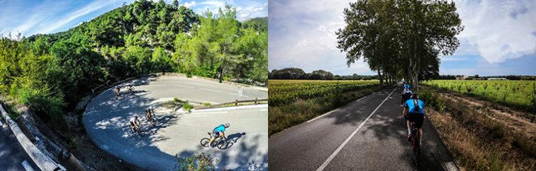 Sprek Trening på sykkeltur i Frankrike