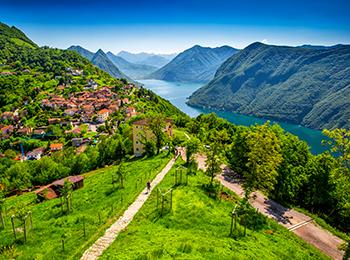Lugano sykkeltur