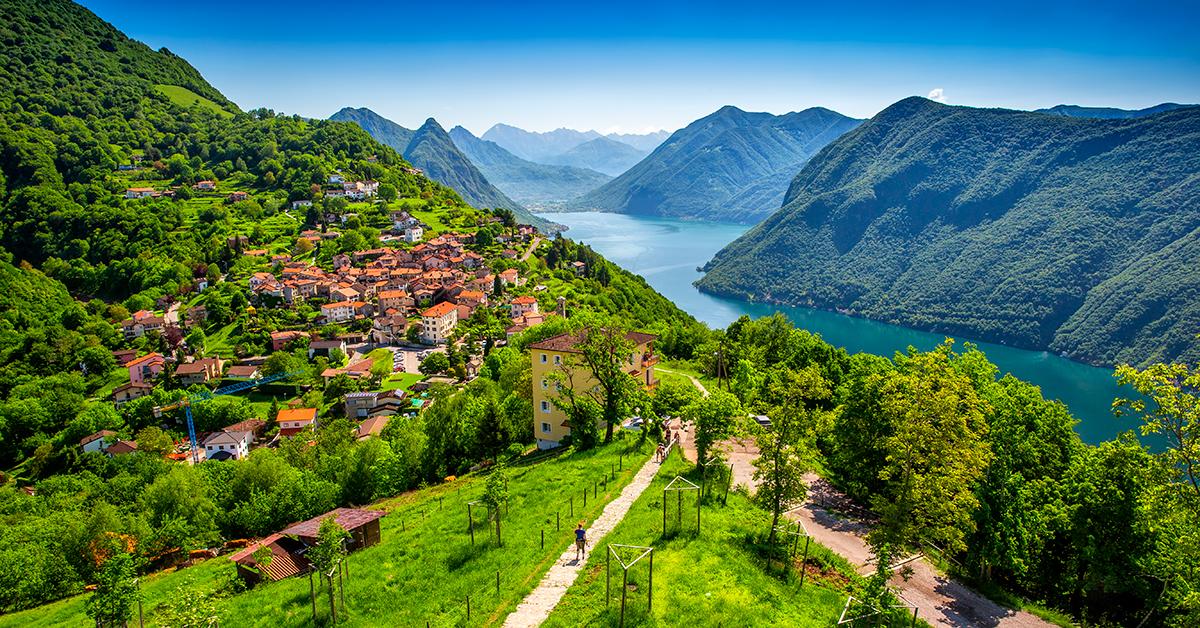 Sykkeltur fra Alpene til sjøene i nord Italia og Passo Stelvio