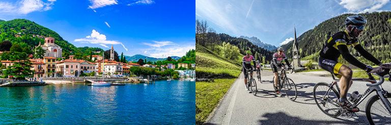 Sykkeltur i Nord-Italia