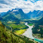 Norge fra sykkelsetet