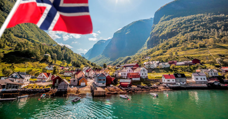 Flåm in Norway