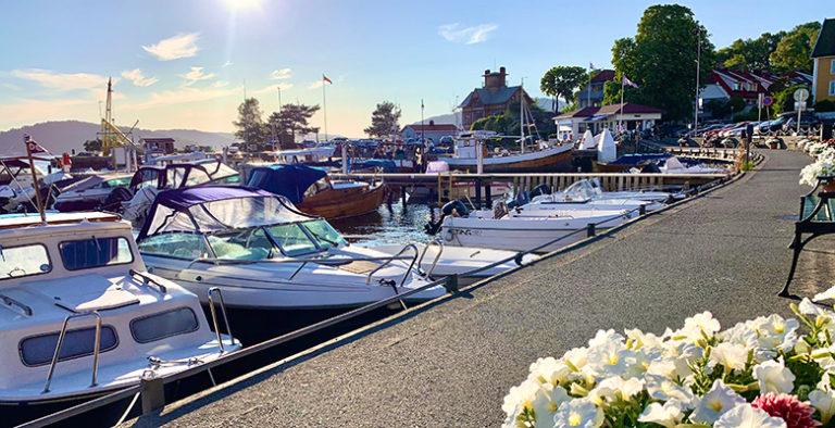 Drøbak Havn, Norge