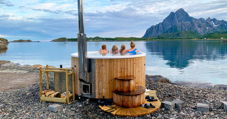 SPA at Skårungen, Lofoten