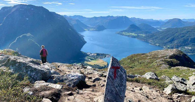 Romsdalseggen, Åndalsnes, Norway