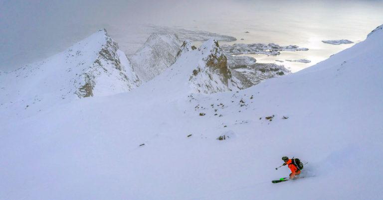 Ski Touring Randonee i Lofoten
