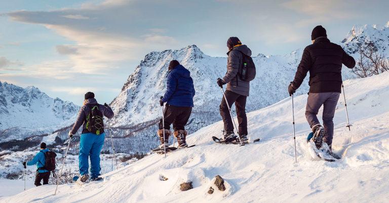 Topptur på truger, Lofoten