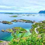 Hamn i Senja, Norge