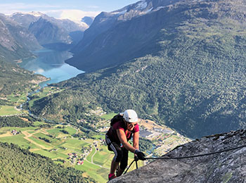 Via Ferrata Loen, Norway