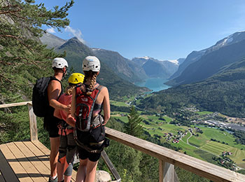 Loen Via Ferrata, Norway