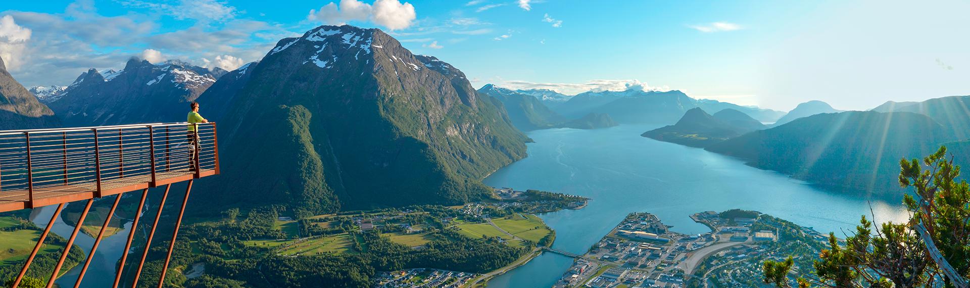 Rampestreken, Åndalsnes, Romsdalen, Norway