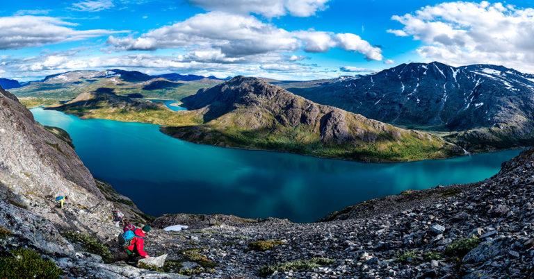 Knutshøe, Besseggen, Jotunheimen, Norway