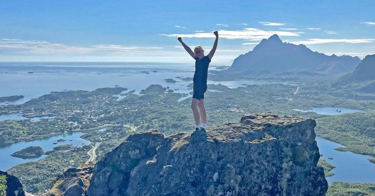 Aktive dager i Lofoten