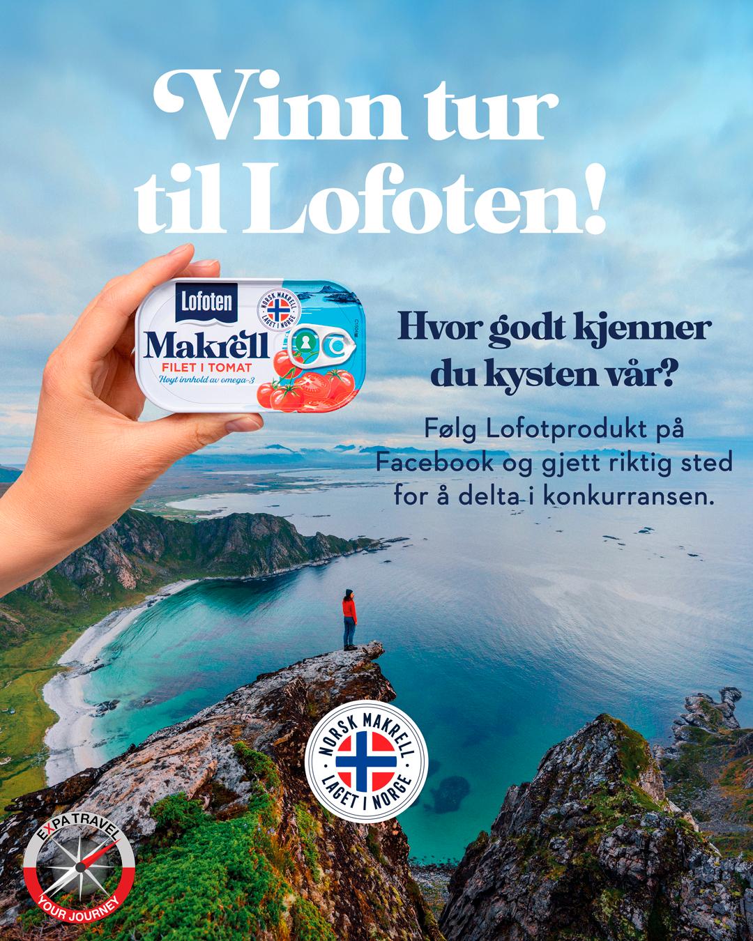 Vinn en tur til Lofoten