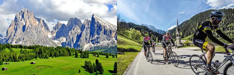 ViaNova på sykkeltur i Dolomittene