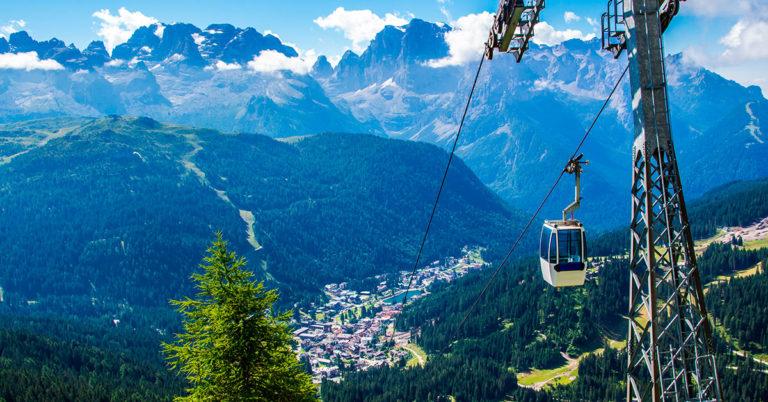 Sykkeltur i Dolomittene